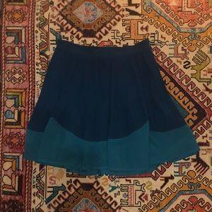 Topshop block colour skirt